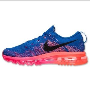 d4d86d21ff1c Nike Shoes - Nike Air Max Flyknit (Blue